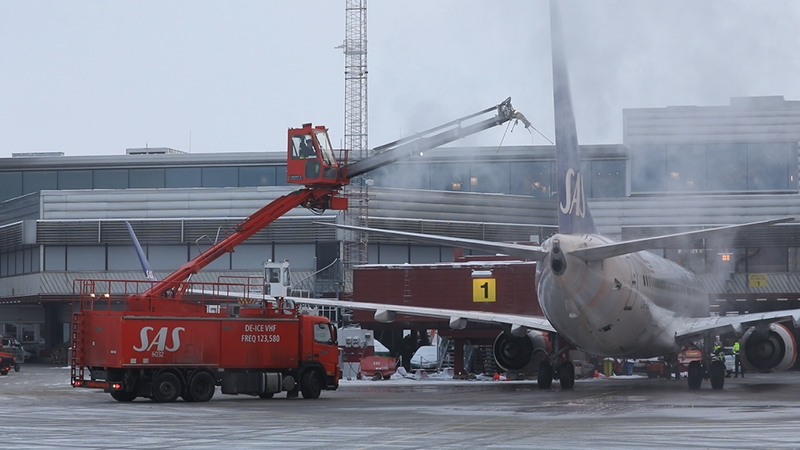 ODISS de-icing management system